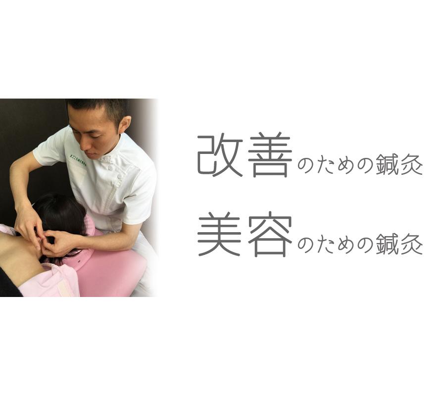 八王子市/美容のための鍼灸と改善のための鍼灸